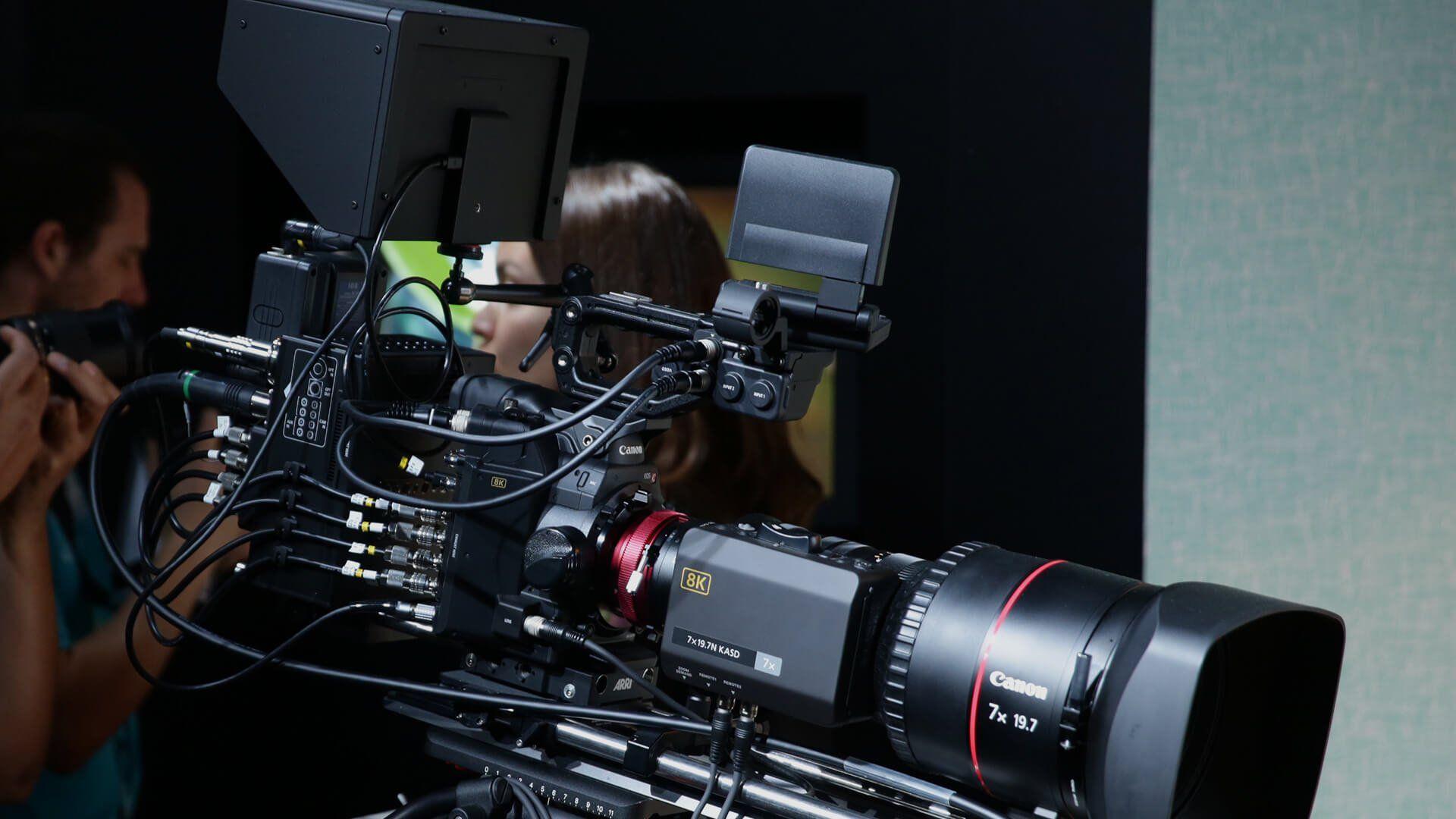 8K Camera Cinema System